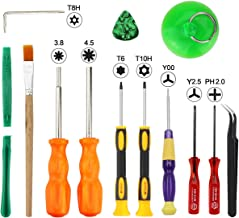 XOOL Triwing Screwdriver for Nintendo, Professional Full Triwing Screwdriver Repair Tool Kit,3.8mm and 4.5mm Security Screwdriver Game Bit Tool Set for Nintendo Switch Joycon/Nintendo Wii/DS/DSL/GBA
