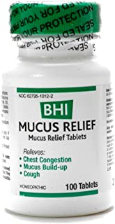 Mucus Relief (Formerly Bronchitis 100 tabs) BHI