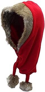 Winter Warm Design Bomber Hats Real Fur Scarf hat Unisex Fashion Rabbit Hair Cap Outdoor Warm hat