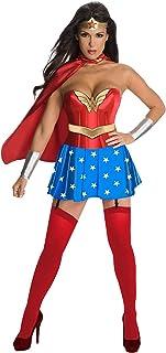 GGTBOUTIQUE - Disfraz de superhéroe para mujer con capa multicolor multicolor M
