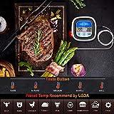 Zoom IMG-2 termometro cucina forno barbecue con