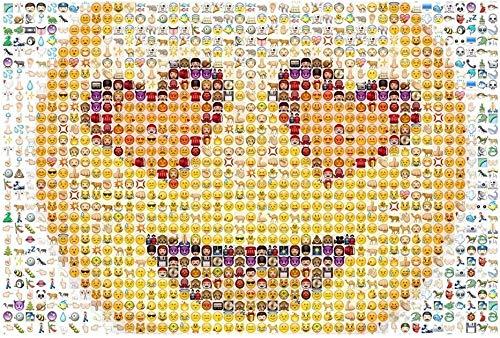 DSACXZ 520/1000/1500 Pz Divertente Emoji Puzzle in Legno for Adulti Adolescente Puzzle Giochi for Bambini Intellettuale Miglior Gioco for Family Game Gioca Collection (Size : 520 pc)