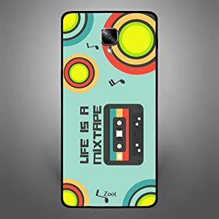 OnePlus 3T Life is a Mix Tape, Zoot Designer Phone Covers