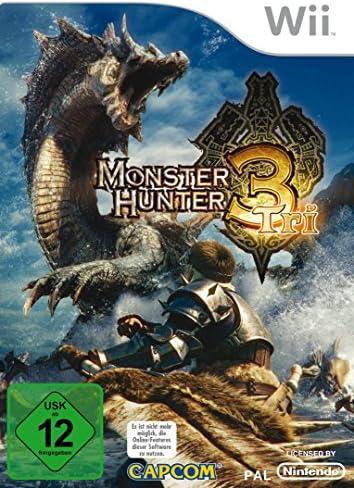 Capcom Wii Monster Hunter Tri