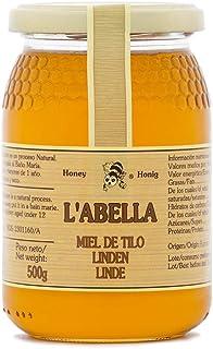 Lindenblütenhonig aus Spanien - beste Qualität - reines Naturprodukt - kaltgeschleudert - mild bis würzig - von der echten Lindenblüte - im Glas, Größe:500 ml, Geschmack:Linde