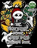 The Nightmare Before Christmas Colouring Book | Christmas Edition: Bring Jack, Sally and your favorite movie scene to real life - 50+ Exclusive Images Inspired by Tim Burton Greatest Movie