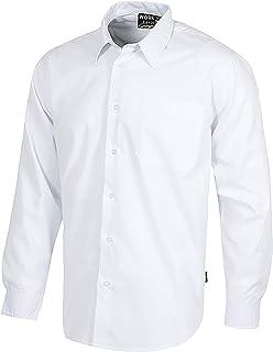 Work Team Camisa de Manga Larga con un Bolso de Pecho. Hombre