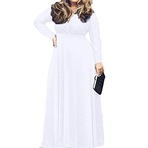 All White Plus Size Dresses Amazon.com