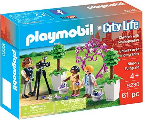 PLAYMOBIL 9230 Niños y Fotógrafo Multicolor