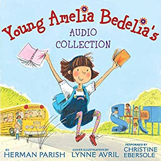 Young Amelia Bedelia's Audio Collection audiobook cover art