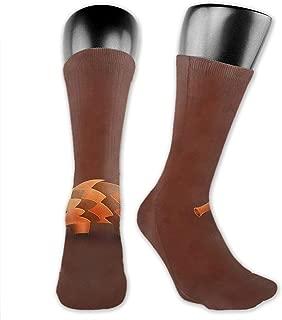 SARA NELL Men & Women Classics Crew Socks Precise Pangolin Animal Thick Warm Cotton Crew Winter Socks Personalized Gift Socks