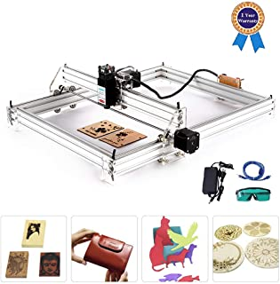 TOPQSC Máquina de tallado Kit de bricolaje, grabador láser de escritorio 12V USB Carver,