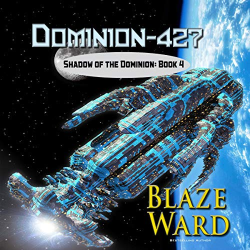 Dominion-427 audiobook cover art