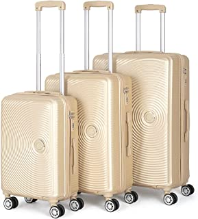 Luggage Sets for Women, 3 Piece Hardside Suitcase Set with Spinner Wheels, 28 inch Large Luggage, 24 inch Luggage, 20 inch...