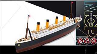 1:1000 Academy R.m.s. Titanic Mcp (multi Color Parts) Plastic Model Kit