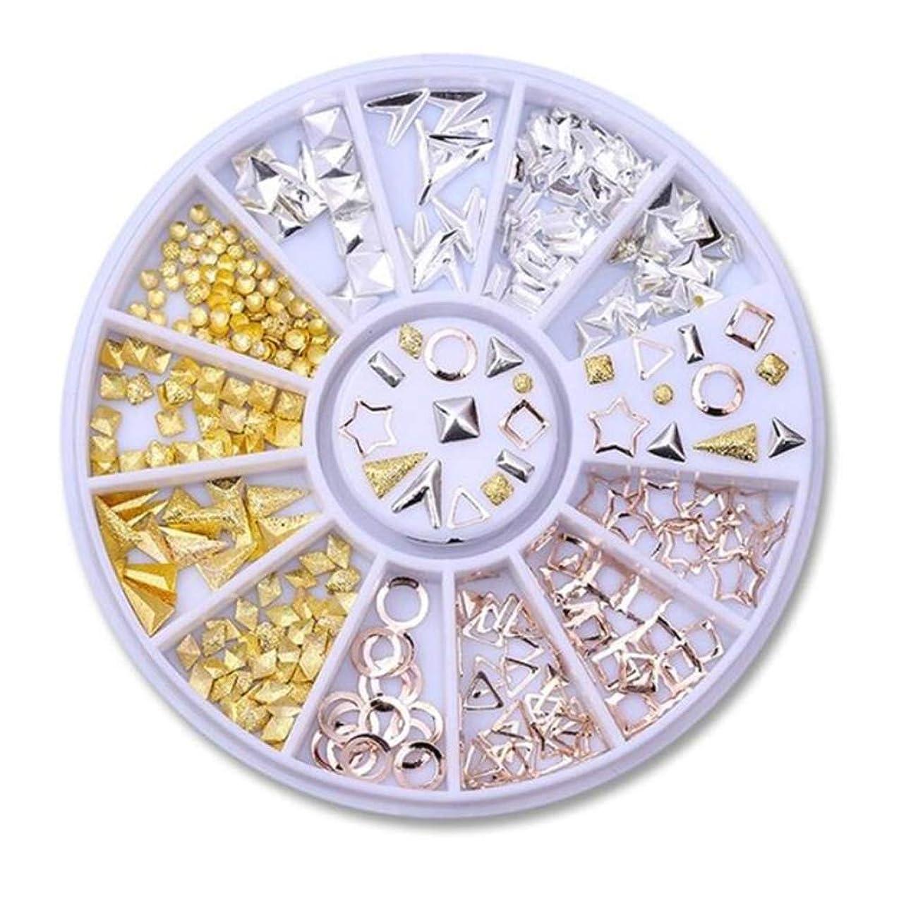 シャープ紳士ペストネイルラインストーンの小さな不規則なビーズマニキュア3Dネイルアートの装飾の輪,29