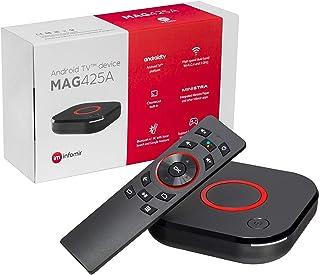 MAG425A Infomir 4K IPTV Set Top Box Android TV 8.0 Multimedia IPTV Player