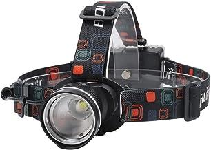 QSCTYG Hoofd Torch LED Koplamp 3-Mode Zoom Koplamp Waterdichte Hoofd Torch Voor Camping Jacht Zaklamp Door AA Batterij 348
