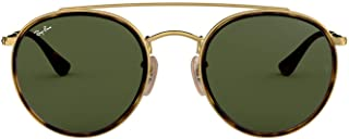 Ray-Ban unisex-adult Rb3647n Round Double Bridge...
