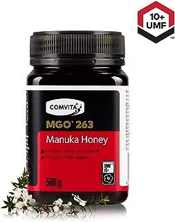 Comvita Certified UMF 10+ (MGO 263+) Raw Manuka Honey INew Zealand's #1 ManukaBrand I Authentic, Wild, Unpasteurized,Non-GMO SuperfoodI Premium Grade I17.6 oz