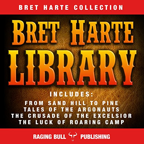 Bret Harte Library audiobook cover art
