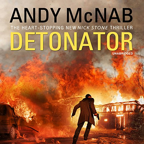 Detonator audiobook cover art
