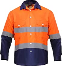 Just In Trend High Visibility Hi Vis Reflective Safety Work Shirts