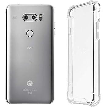 万屋-JP(工場直販品質保証) LG V30+ ケース 高等シリカゲル素材 四つ角耐衝撃デザイン LG V30+ / LG V35 / L-01K / JOJO L-02K TPU超薄型 透明ケース LG V30+ シリーズ 超軽量 取り付け易い型保護カバー (LG V30+ / LG V35 / L-01K / JOJO L-02K)