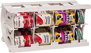 rotating canned food shelf