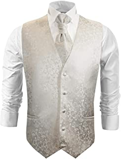 Wedding Vest Set Ivory