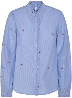Pepe Jeans Shirt Lily Blue for Woman