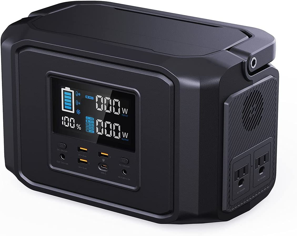 Aukeypower 518Wh PowerZeus 110V/500W Portable Power Station $199.99 Coupon