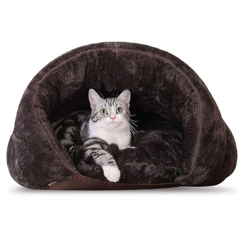 南東禁止不快KuangfuMall 犬のベッド猫のマット猫のトイレ猫の寝袋ソフト暖かい四季ユニバーサルペット用品四季の普遍的な洗える (サイズ : 60CM)
