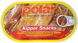 MW Polar Herring, Kipper Snacks, 3.53-Ounce