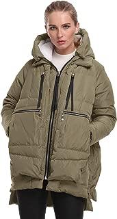 Women's Winter Down Jackets Long Down Coats Warm Parka with Hood