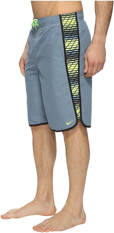 Nike Men's Swift Splice 11 Swim Trunks S Blau Graphite