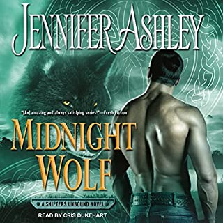 Midnight Wolf     Shifters Unbound Series, Book 11              Written by:                                                                                                                                 Jennifer Ashley                               Narrated by:                                                                                                                                 Cris Dukehart                      Length: 9 hrs and 42 mins     1 rating     Overall 5.0