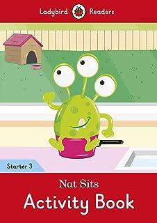 Nat Sits Activity Book - Ladybird Readers Starter Level 3