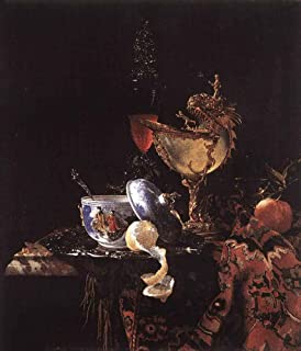 Still-Life with a Nautilus Cup by Willem Kalf - 20