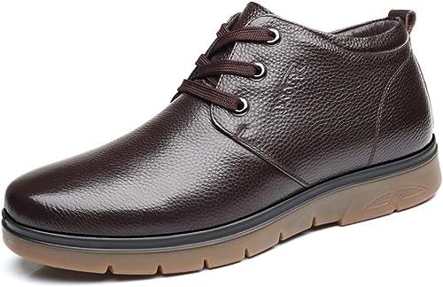 BND-chaussures , Bottes de Travail à la Mode Mode pour Hommes Décontracté Décontracté Affaires Series Durable; Supporter l'usure (Couleur   Marron, Taille   44 EU)  meilleur service