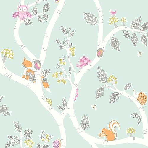 Holden Decor Make Believe Woodland Adventure Wallpaper 12490 - Kids Childrens