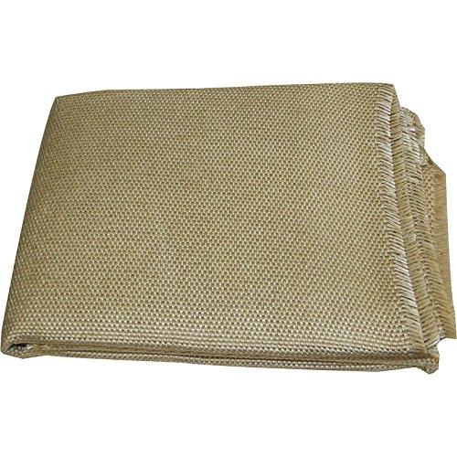 CEPRO Schweißschutzdecke Schweißerdecke Löschdecke Schweißschutzmatte, verschiedene Größen, Höchsttemperatur bis 700°C, Größe:1 x 2 m