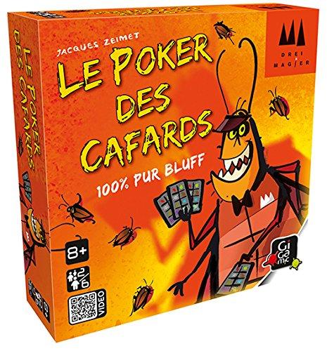 GIGAMIC drkpok–Kartenspiel–Poker-Kakerlaken