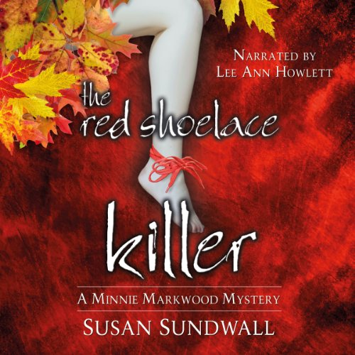The Red Shoelace Killer audiobook cover art