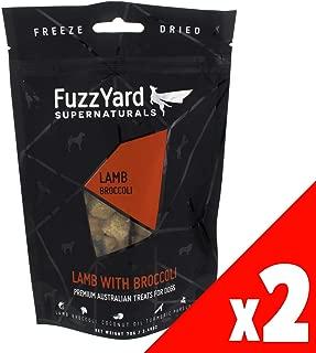 Supernaturals Lamb & Broccoli 70g Fuzz Yard Dog Treat Natural Super Food Puppy