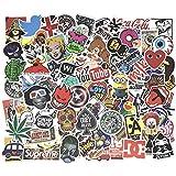 StickerFactory Autocollants Silley (Lot de 100)  Identique à la Photo Principale Idéal pour Ordinateurs Portables, Skateboard, Snowboard, Bagages, Valise, Vélo, Voiture, Téléphone …