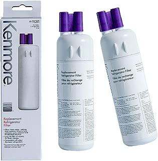 Kenmore 469081 Refrigerator Water Filter Replacement 9081, 469930, 9930, 469081 water filter 1 (2 PACKS)