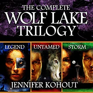 Wolf Lake: The Complete Trilogy                   By:                                                                                                                                 Jennifer Kohout                               Narrated by:                                                                                                                                 Michaela James                      Length: 22 hrs and 15 mins     18 ratings     Overall 4.0