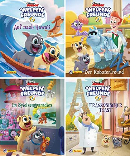 Nelson Mini-Bücher: 4er Disney Welpenfreunde 1-4