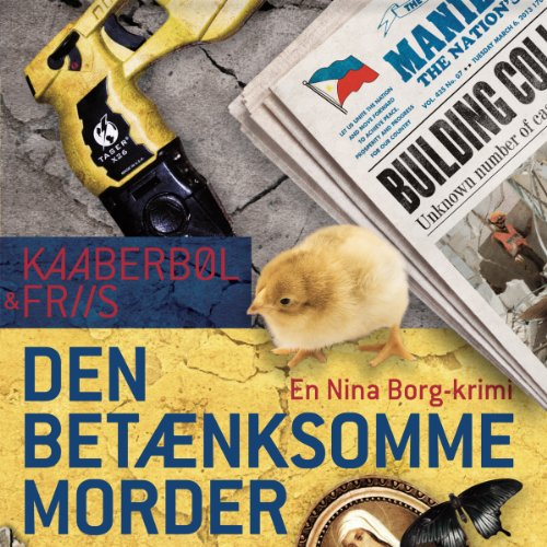 Den betænksomme morder [The Thoughful Killer] audiobook cover art